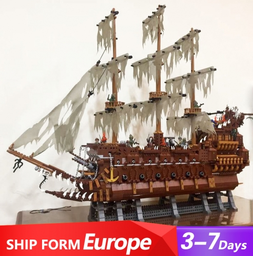 83015 3652PCS Movie series Flying Dutchman Building Blocks Toys 16016