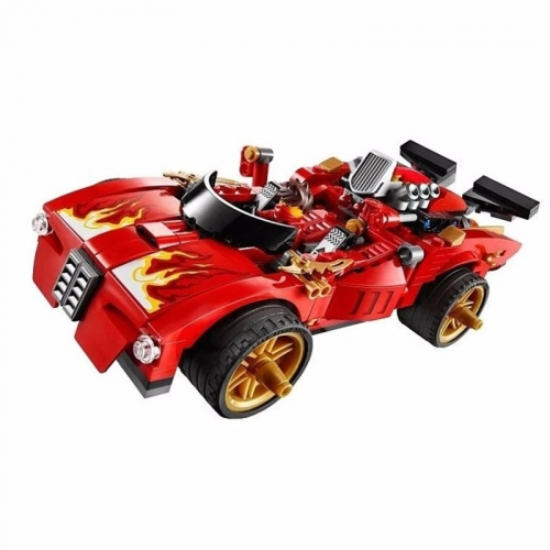 9796 425PCS Ninja Series X-1 Ninja Charger Building Blocks Toys 70727 Ship From China