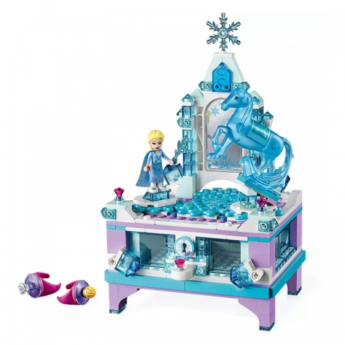85019 330PCS Girl series Elsa's Jewellery Box Building Blocks Toys 41168 Ship From China