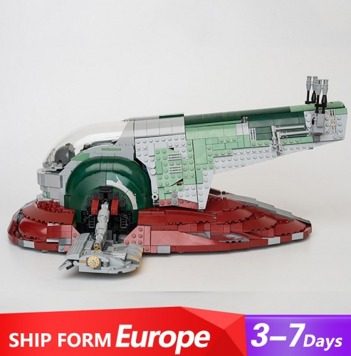 05037 Star Wars Series Slave I Building Blocks 1996pcs Bricks Toys Sets For Gift 75060