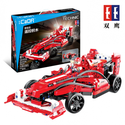 C51010 Technics World Speed F1 Rc Racing Car Building Block Racer Driver Figure Assembly Brick 2.4Ghz Radio Remote Control Toy Ship From China