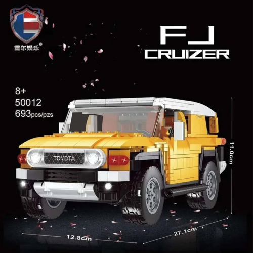 LR50012 Technic Series Land Cruiser SUV Supre Car Building Blocks Bricks 693pcs Bricks Toys For Gift
