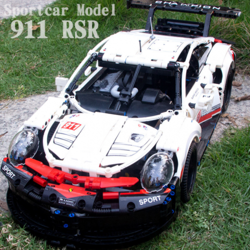 20097 Technic 911 RSR Car Toys Compatible 42096 Super Car Model Assembly Building Blocks Bricks Kid Christmas Gift Ship From China