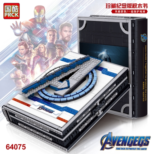 64075 2511Pcs Super Hero Series Avengers Collector's Block Book Building bricks Bricks Toys Gift Ship From  China