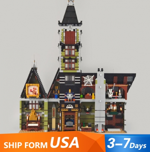 XD2025 Movie Series Haunted house Building Blocks 3231pcs Bricks Toys For Gift 10273