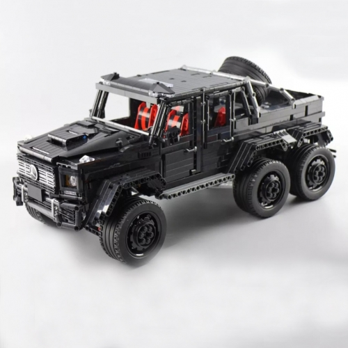 J901 3300Pcs Technology Series 6x6 G63 AMG Land Cruiser Building Blocks Toy Ship From China