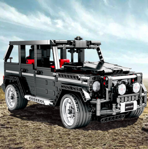 701960 Technology Machinery Series Big G Off-Road Vehicle Compatible With Lego Building Blocks Ship From China