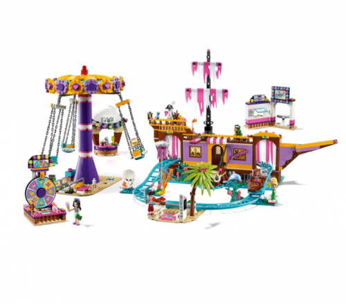 40012 1378pcs Girl Series  Amusement Park Building Block Toys Ship From China