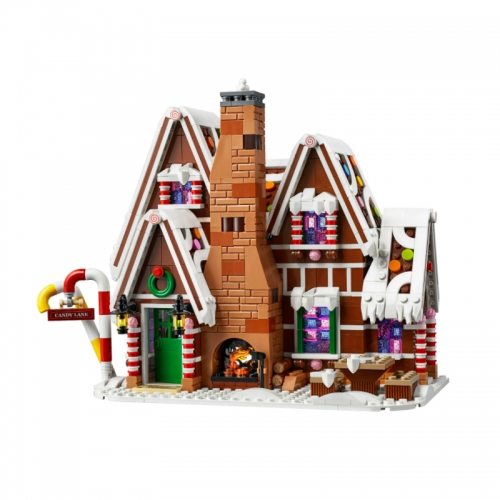 20005 1691pcs Gingerbread House Children's Puzzle Assembled Building Block Toy Christmas Gift Compatible 10267 Ship From China