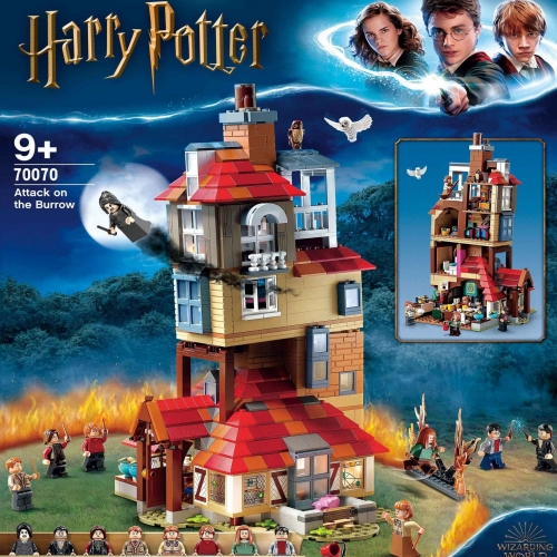 70070 1047pcs Attack On The Burrow Building Block Toy Ship From China 75980