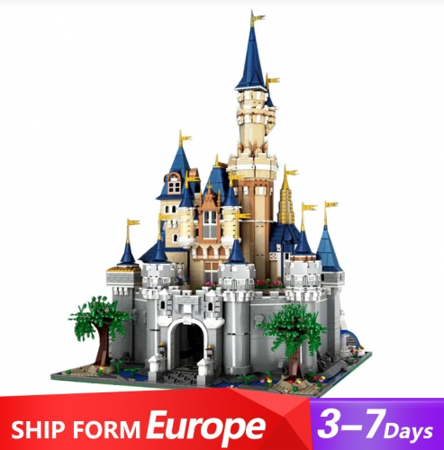 Mould King 13132 Movie Series Pincess Castle Paradist Building Blocks 8388pcs Bricks Ship From Europer 3-7 days Delivery