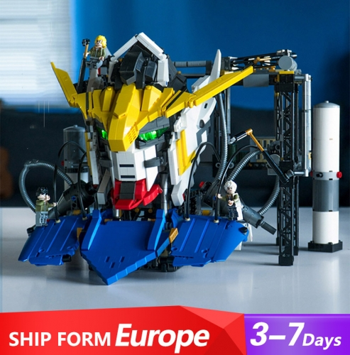 K86 Movie Series Gundam Robot MOC Mobile Suit Gundam Founder Model Set Ship From Europe 3-7 Days Delivery
