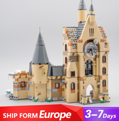75948 Movie Series Harry Potter Hogwarts Clock Tower Building Blocks Ship From Europe 3-7 days