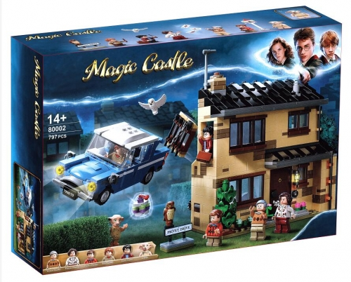 75968 797pcs Harry Potter Series 4 Privet Drive  Building Blocks Toy Ship From China 80002