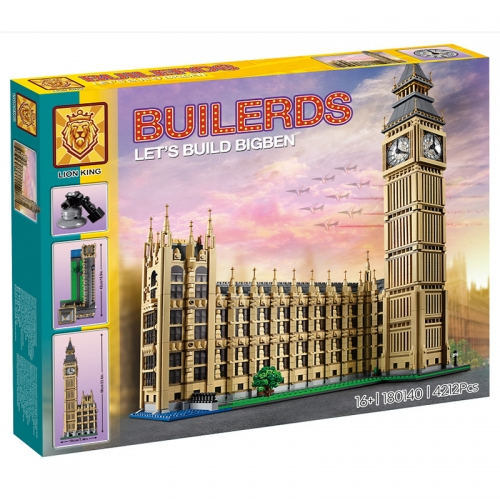 17005 Street View London Big Ben Architectural Model Building Blocks Toy Ship From China 180140