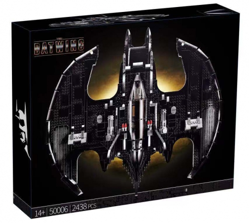 50006 2438pcs Batman 1989 Batwing Building Blocks Toy Ship  From China 76161