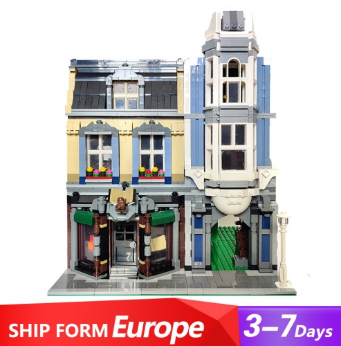 QL0925 Zhegao Book Shop Building Blocks 1969pcs Bricks Ship From Europe 3-7 days Delivery MOC-18923