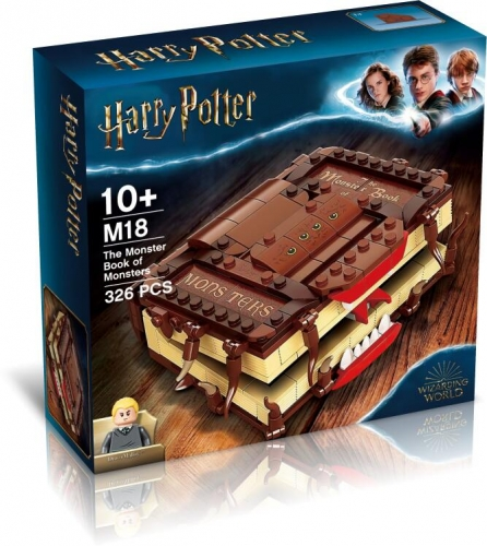 M18 Harry Potter Spellbook Building Blocks Toy Ship From China