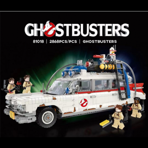 81018 2868pcs GHOSTBUSTERS ECTO-1 Building Blocks Toy Ship From China 10274
