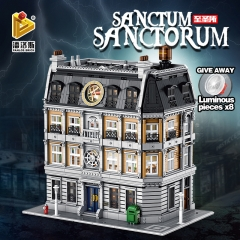 Hot 613001 6040Pcs Marvel The Doctor Strange Sanctum Sanctorum Building blocks MOC-30628 Free Shipping ( no tax)