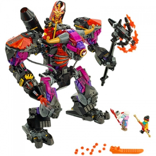 11543 1067PCS Idea Series Bull Demon King Blaze Mecha Building Block Toy Ship From China