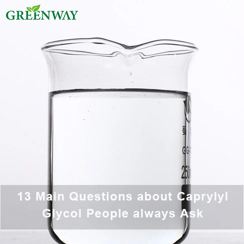 13 Main Questions about Caprylyl Glycol People always Ask