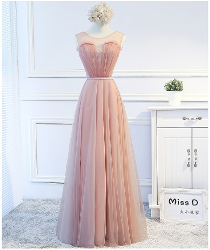 New Style Simple Long Style  Bridesmaid Dresses BZ11