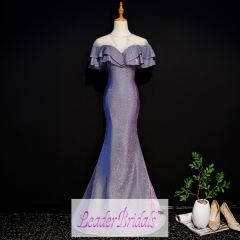 Custom Made Mermaid Evening Dress EZ28