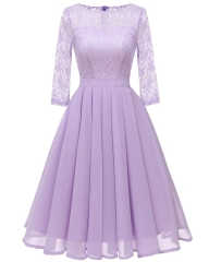 New Style Short Style Long Sleeves Bridesmaid Dresses BZ29