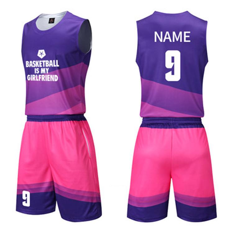Custom Design Full Sublimation Basketball Jersey