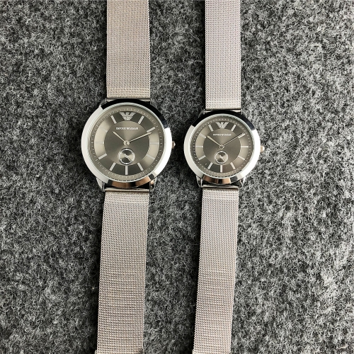 Stainless steel EMPORIO ARMAN*I Couple watches