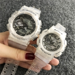 Stainless steel Casio couple watch