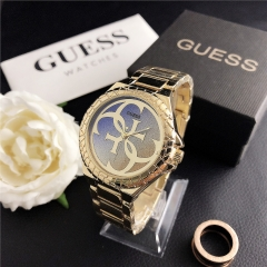 stainless steel Guess watch