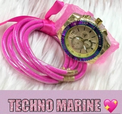 technomarin watch+Jelly bracelet