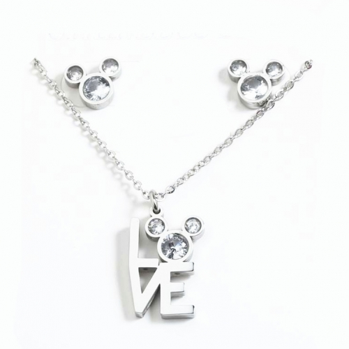 Stainless steel Disne*y Jewelry  SN200909-S2734-S-W