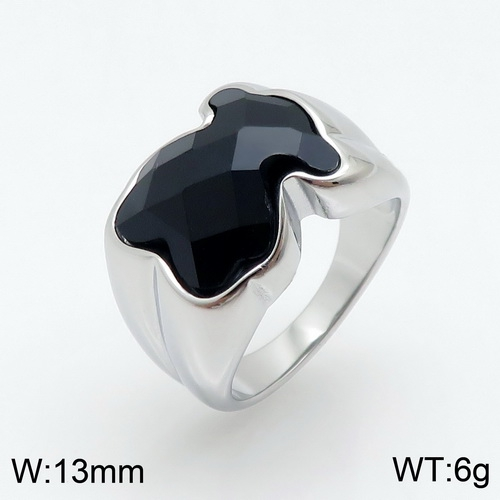Stainless steel TOU*S Ring D200826-JZ-032S