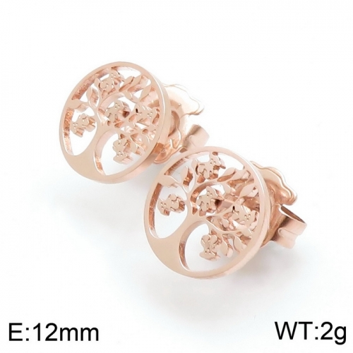Stainless steel TOU*S Earring D200826-ED-124R