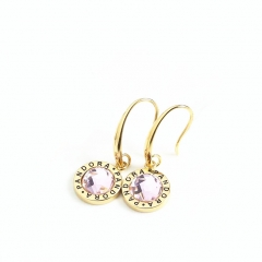 Stainless Steel Pandor*a Earring PDE0036-G-P