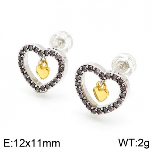 Stainless steel Tou*s Earring ED-127S