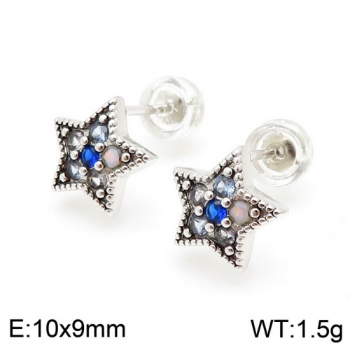 Stainless steel Tou*s Earring ED-126S