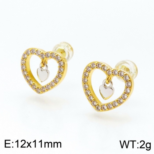 Stainless steel Tou*s Earring ED-127G