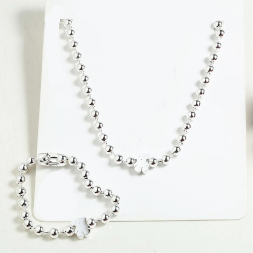 Stainless steel Tou*s Jewelry Set  S201010-PCS8161-SI