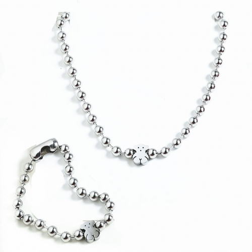 Stainless steel Tou*s Jewelry Set  S201010-PCS8161-S