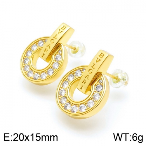 Stainless Steel Tou*s Earring D201020-ED-129G