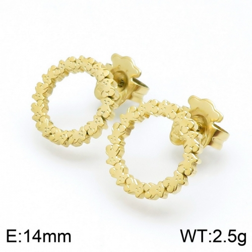 Stainless Steel Tou*s Earring D201020-ED-130G