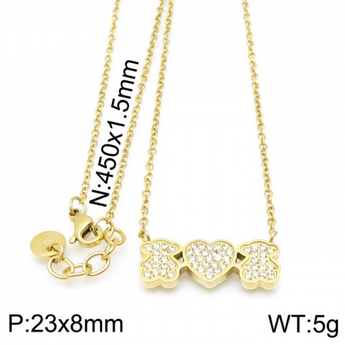 Stainless Steel Tou*s  Necklace D201020-XL-087G