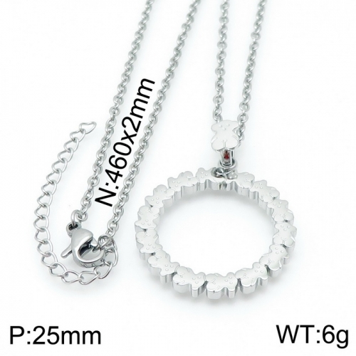 Stainless Steel Tou*s  Necklace D201020-XL-085S