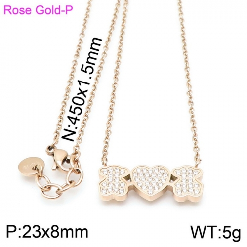 Stainless Steel Tou*s  Necklace D201020-XL-087R