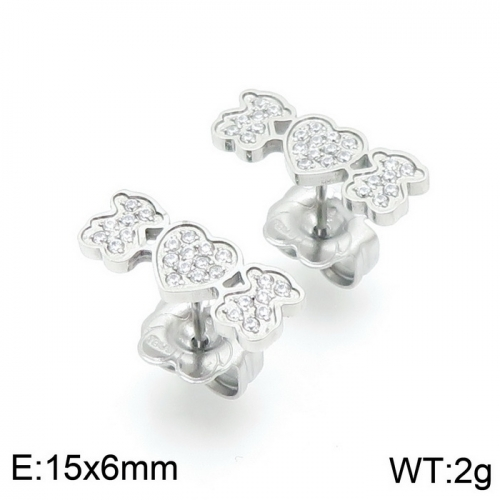 Stainless Steel Tou*s Earring D201020-ED-132S
