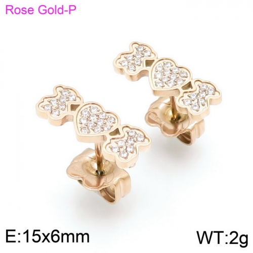 Stainless Steel Tou*s Earring D201020-ED-132R